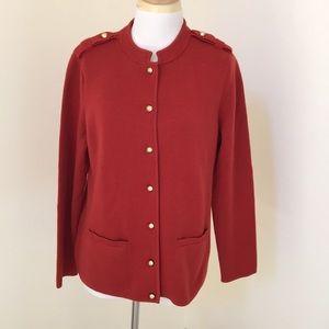 NWOT! Talbots LP brick front button blazer/ jacket